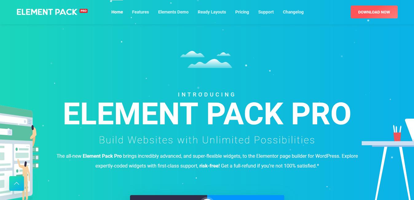 Element Pack – Addon for Elementor Page Builder WordPress Plugin | WordPress Club TATDROM